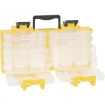 Organizador plástico 375x115x200mm 10 bandejas opv0100 - Vonder -