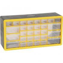 Organizador plástico 500x160x250mm 30 gavetas opv0300 - Vonder -