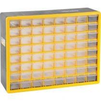 Organizador plástico 505x160x400mm 64 bandejas opv310 - Vonder -