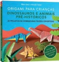 Origami Para Criancas - Dinossauros  E Animais Pre Historicos - Publifolhinha - 1