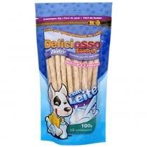 Osso Deliciosso Baby Palito Fino Leite para Cães Filhotes - 100 g -