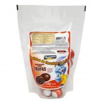 Ovinhos de Chocolate Recheio Trufas 350g - Montevérgine -