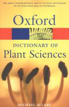 Oxford dictionary of plant sciences - 9780198608769 - Oxford university