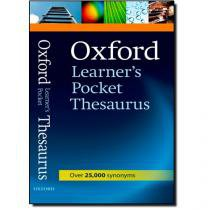 Oxford Learners Pocket Thesaurus - Oxford - 952974