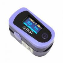 Oxímetro de pulso portátil monitor de dedo g-tech -