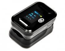 Oxímetro de pulso portátil monitor de dedo preto bic -