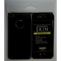 Pack compre 7 capas pague 3 - capa iphone 4 / 4s skin preto - Bb face
