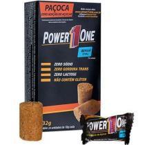 Paçoca Zero Açúcar - 24 Unidades (1 cx.) 432g - Power 1 One -