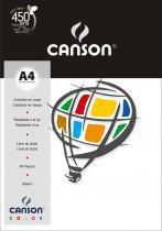 Pacote Canson Color Branco 180g/m² A4 210 x 297 mm com 10 Folhas - 66661186 -