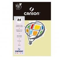 Pacote canson color marfim 180g/m² a4 210 x 297 mm com 10 folhas - 66661206 -