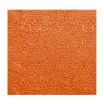 Pacote de guardanapos de papel elegance orange 33x33cm 15 folhas - Bololô