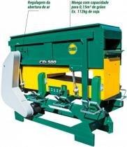 Padronizador e pré-limpeza de sementes cimisa - linha cd500 - Cimisa