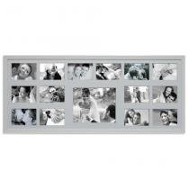 Painel Bee Collection 14 Fotos 10x15cm e 1 Foto 20x25cm  43x103cm Branco Kapos -