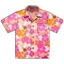 16ead1beb67ea Painel Decorativo Camisa Florida Rosa Paper Fest - Festabox