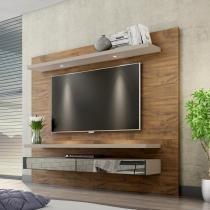 Painel para TV 220 Nobre/Fendi Com Espelho Tb108e - Dalla costa