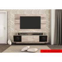 Painel para TV 55 polegadas Caviúna 170cm Castanha - Colibri