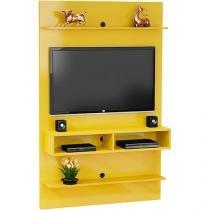 Painel para TV até 47 Polegadas Vega Amarelo - Móveis Bechara -