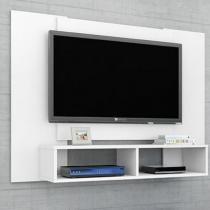 Painel para TV até 48 Polegadas 2 Nichos Navi Móveis Bechara Branco -