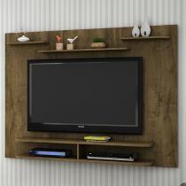 Painel para TV até 55 5 Prateleiras - Móveis Bechara Solaris