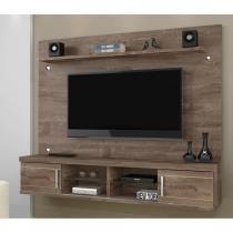 Painel para tv até 60 polegadas flex color valença chf chocolate/ champanhe/ chocolate - Chf