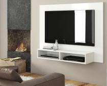 Painel Para TV Baly até 42 Branco/Branco - At House