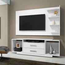 Painel para TV Chicago RV Móveis Branco - RV Móveis