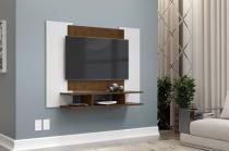 Painel para TV EJ Branco com Malbec - EJ Móveis