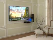 Painel para TV Paris até 52 Branco e Preto Multivisão - Multivisão