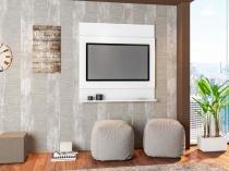 Painel Parede Para Tv Até 47 Ontário Branco - ATMPL900 BR - Art In Móveis - Artin móveis