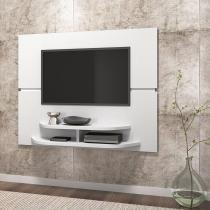 Painel TV Sala Branco Brilho - Dj móveis