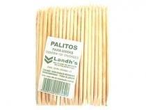 Palitos Landhs Para Unhas 100 Unidades - Descartáveis
