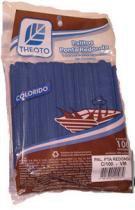 Palitos Para Sorvete Azul Pontas Arredondadas 100un Palitex - 1073221