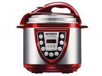 Panela de Pressão Elétrica Mondial Pratic Cook - 700W 3,6L Tela