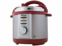 Panela de Pressão Elétrica Philco 56401035 - 800W 4L Timer Controle de Temperatura