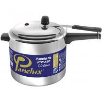 Panela de pressão panelux 7 litros polido - 001036 - Panelux