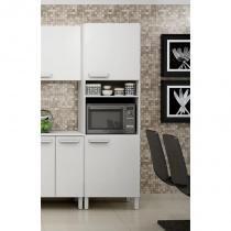 Paneleiro com nicho para forno Decari 31121 - Branco Textura - Palmeira