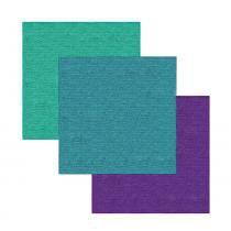 Pano para Limpeza Multiuso Microfibra Color 3 Unidades - 29767 - Flash limp