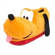 Pantufa 3D de Cachorro Pluto Ricsen de Pelúcia Fechada Laranja 34/36 - Ricsen