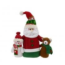 Papai Noel e amigos Santini Christmas Happy 31cm -