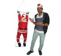 Papai Noel Escada Natalino Escalador Enfeite Natal Decoracao (BSL-36041-12) - Braslu
