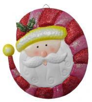 Papai Noel Porpurina Natal Natalino Kit Com 3 Uni Decoracao (NA-14 PNP) - Braslu