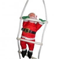 Papai Noel Subindo Escada Natal Decoracao Enfeite Natalino (BSL-36041-11) - Braslu
