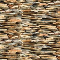 Papel Adesivo Pedra Nature Plastcover 45 Cm X 10 Ms -