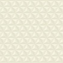 Papel De Parede Coleção Diplomata Geométrico 3D Bege Claro 3105 - Bobinex