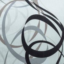 Papel de Parede Vinílico 53cmx10m Isadora Design - Rolo de 10m Bege/Preto/Cinza -