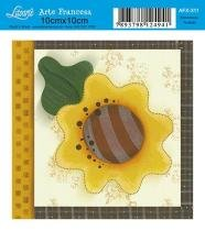 Papel Decoupage Arte Francesa Flor AFX-311 - Litoarte - Litoarte