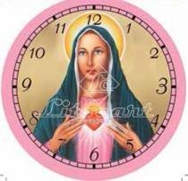 Papel Decoupage Relógio Maria Mãe de Jesus LDR-37 - Litocart - Litocart
