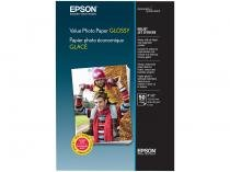 Papel Fotográfico 10x15cm Epson 183g - Value Photo Paper Glossy 50 Folhas