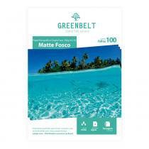 Papel Fotográfico A4 Matte Fosco 180g Dupla Face Greenbelt 100 Folhas -