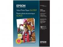 Papel Fotográfico Epson Value Photo Paper Glossy - 50 Folhas